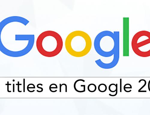 Google cambia la forma en que genera los títulos de nuestra web
